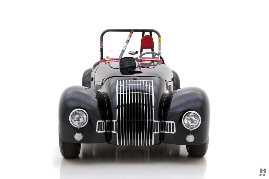 Front of 1947 Vintage Allard Roadster Automobile For Sale at Hyman in St. Louis