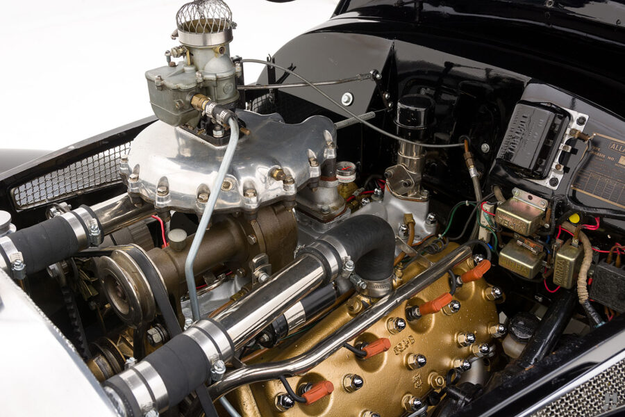Engine on Historic 1947 Allard Roadster For Sale - Find More Classic Cars at Hyman in St. Louis