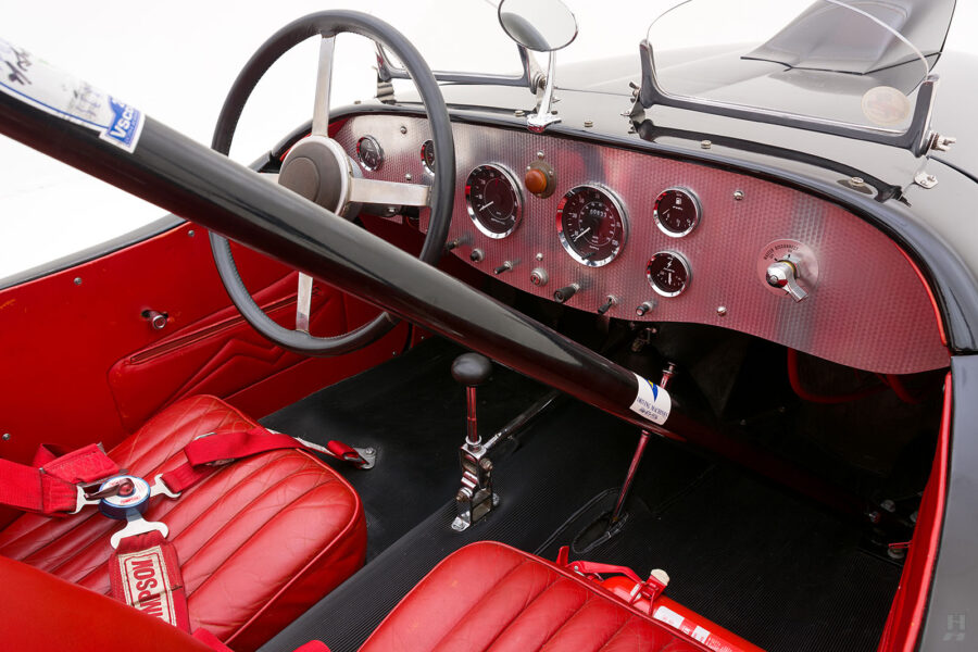 Front Seats in Rare 1947 Allard Roadster - Find More Classic Cars for Sale at Hyman Dealers
