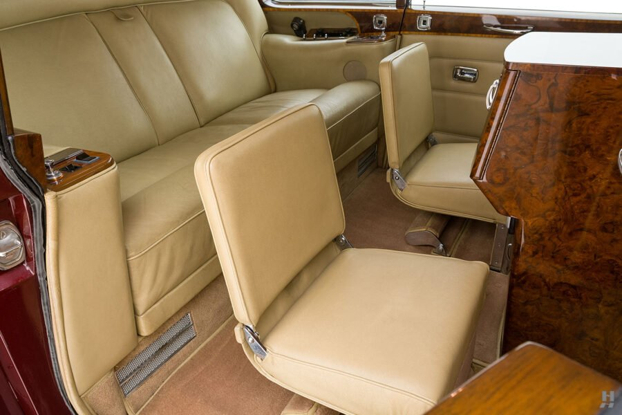 Interior view of vintage 1975 Rolls-Royce Phantom model for sale - find more classic cars at Hyman dealers in St. Louis
