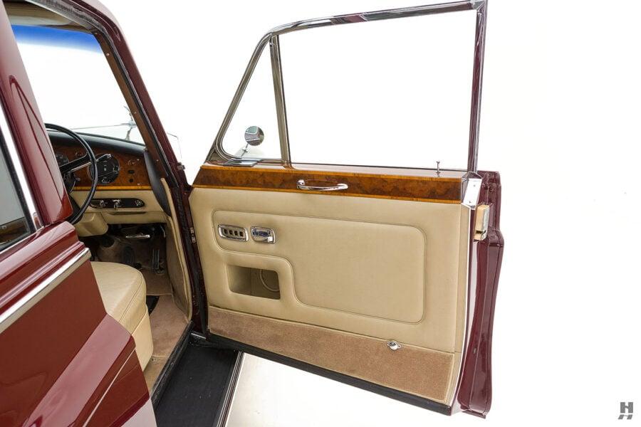 Passenger's side door of 1975 Rolls-Royce Phantom model for sale - find more cars at Hyman dealers in St. Louis
