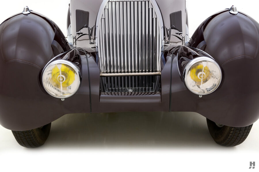 front of classic bugatti model for sale - find more cars at hyman consignment dealers online