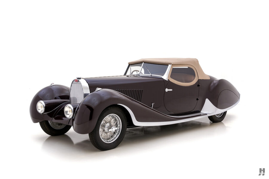 classic bugatti convertible for sale at hyman car dealers - find the price online
