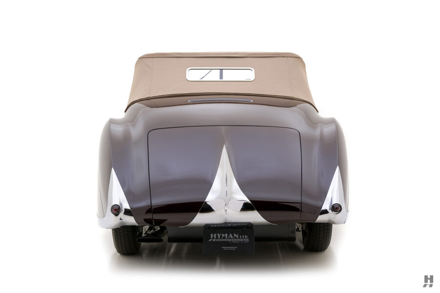 back of classic bugatti type57c convertible car for sale - find price at hyman online