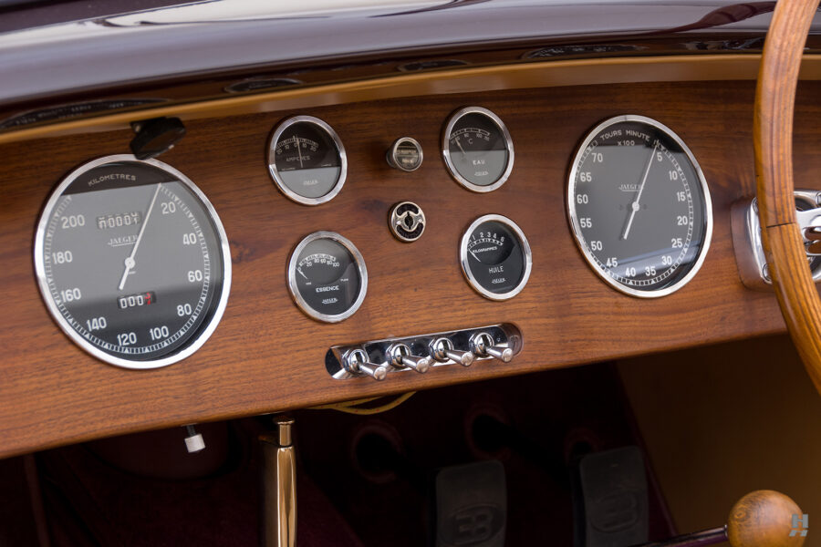 dashboard on classic bugatti for sale - find more cars at hyman consignment dealers