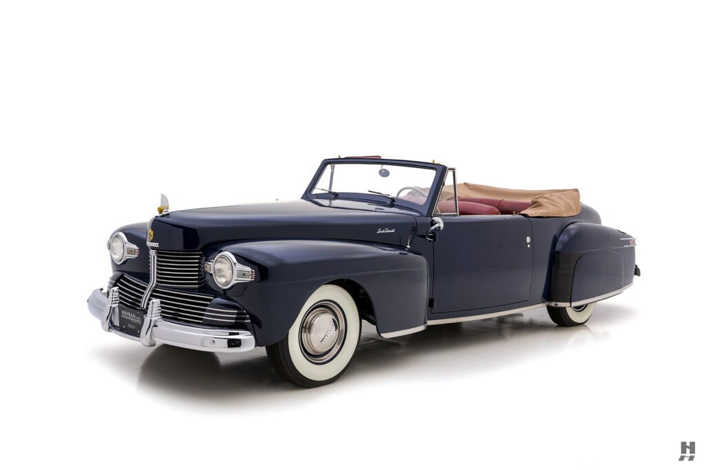 angled frontside lincoln continental automobile for sale at hyman dealers
