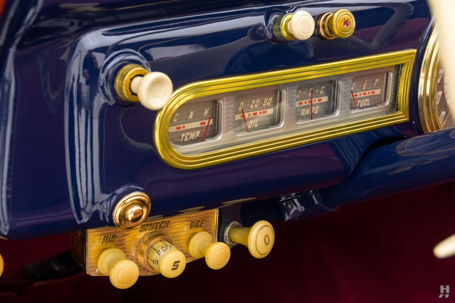 ac buttons on classic lincoln continental automobile for sale at hyman dealers