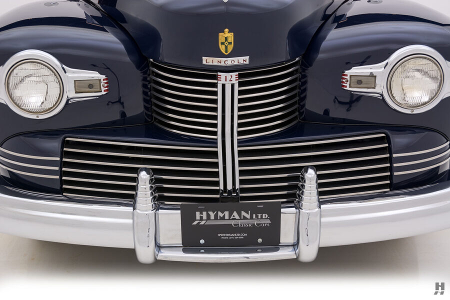 frontside on classic lincoln continental automobile for sale at hyman dealers