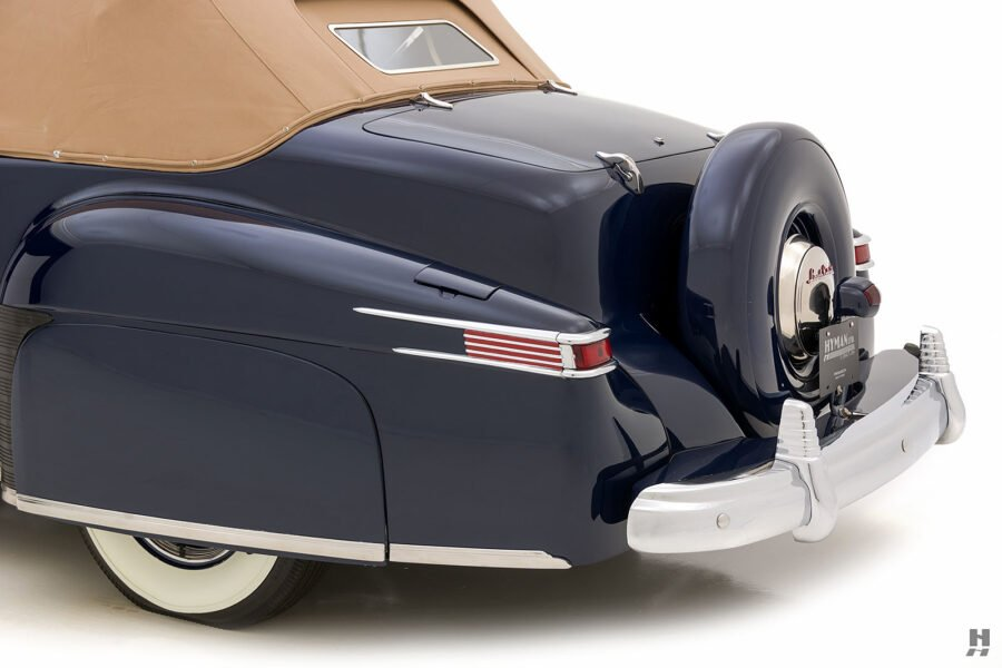 angled backside on classic lincoln continental automobile for sale at hyman dealers