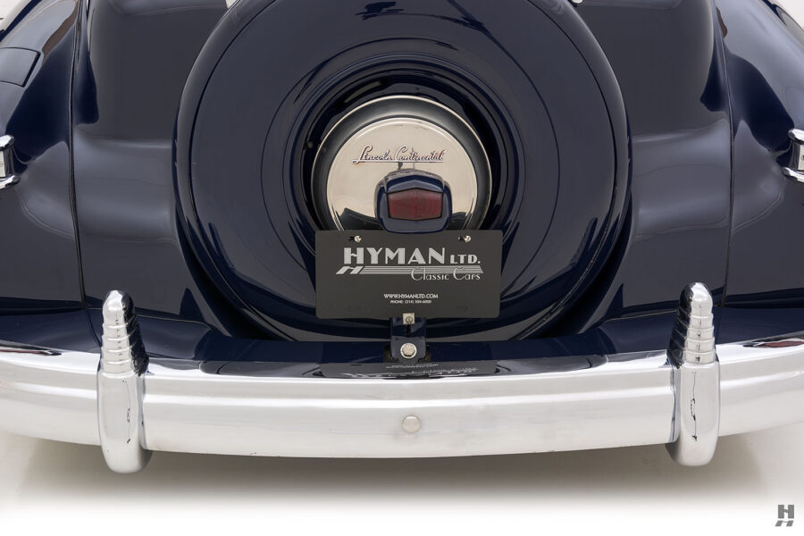 backside on classic lincoln continental automobile for sale at hyman dealers