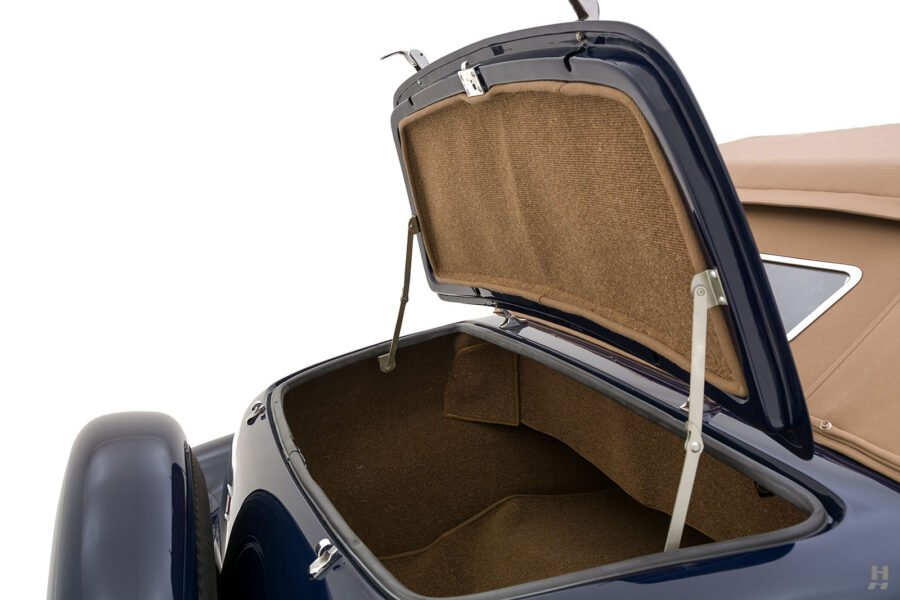 truck hatch on classic lincoln continental automobile for sale at hyman dealers