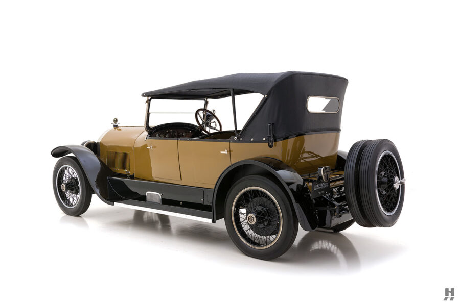 angled back of antique 1921 stutz series touring vehicle for sale at hyman cars