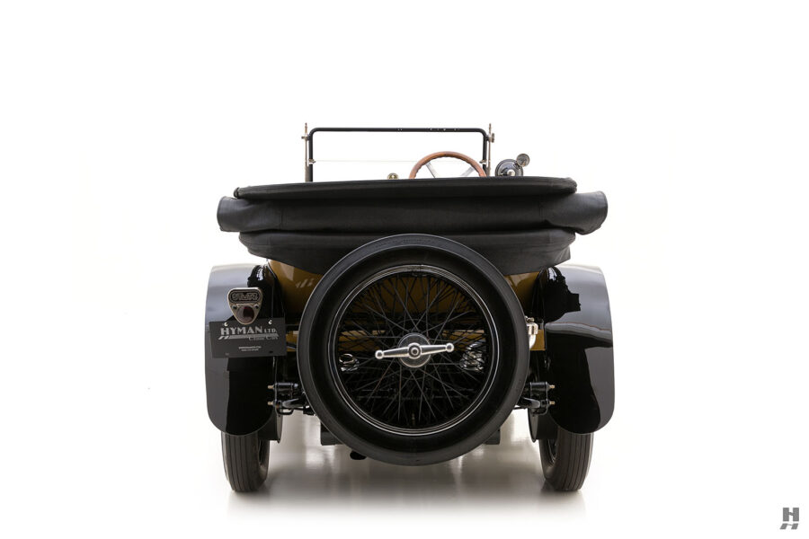 back of antique 1921 stutz series touring vehicle for sale at hyman cars