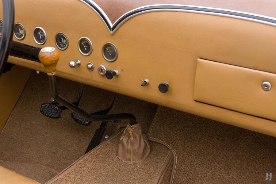 dashboard of antique 1932 duesenberg speedster for sale at hyman classic car dealers