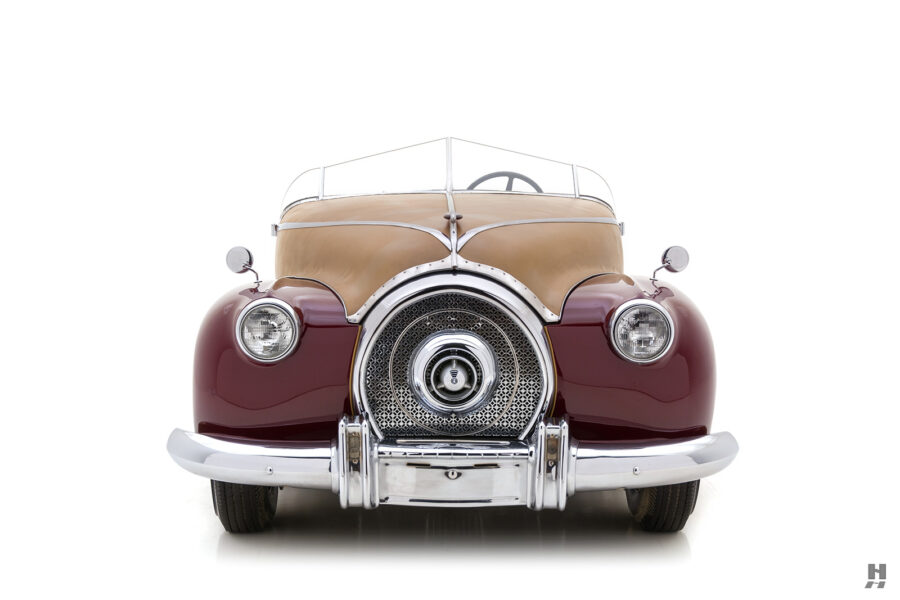 front of antique 1932 duesenberg speedster for sale at hyman classic cars