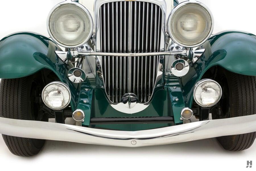 frontside of vintage duesenberg speedster for sale at hyman classic cars