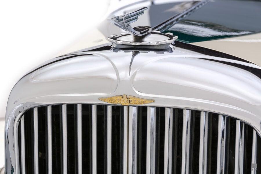 front metal on vintage duesenberg speedster for sale at hyman classic cars