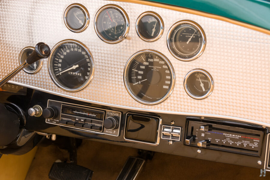 dashboard of vintage duesenberg speedster for sale at hyman classic cars