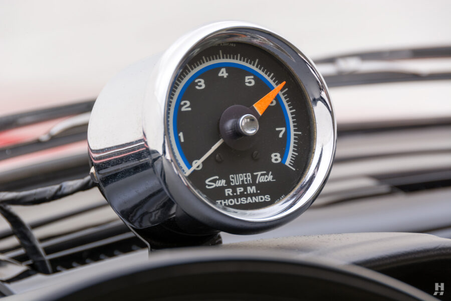 speedometer on vintage 1963 plymouth savoy for sale at hyman classic cars