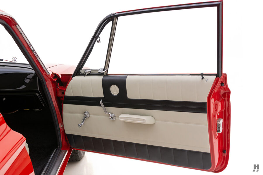 passenger's side door of vintage 1963 plymouth savoy for sale at hyman classic cars
