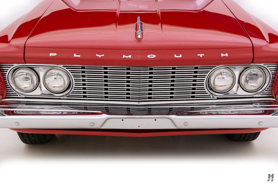 front of vintage 1963 plymouth savoy for sale at hyman classic cars