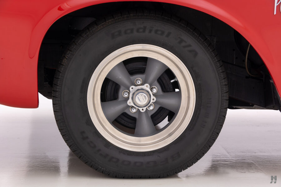 back tire of vintage 1963 plymouth savoy for sale at hyman classic cars