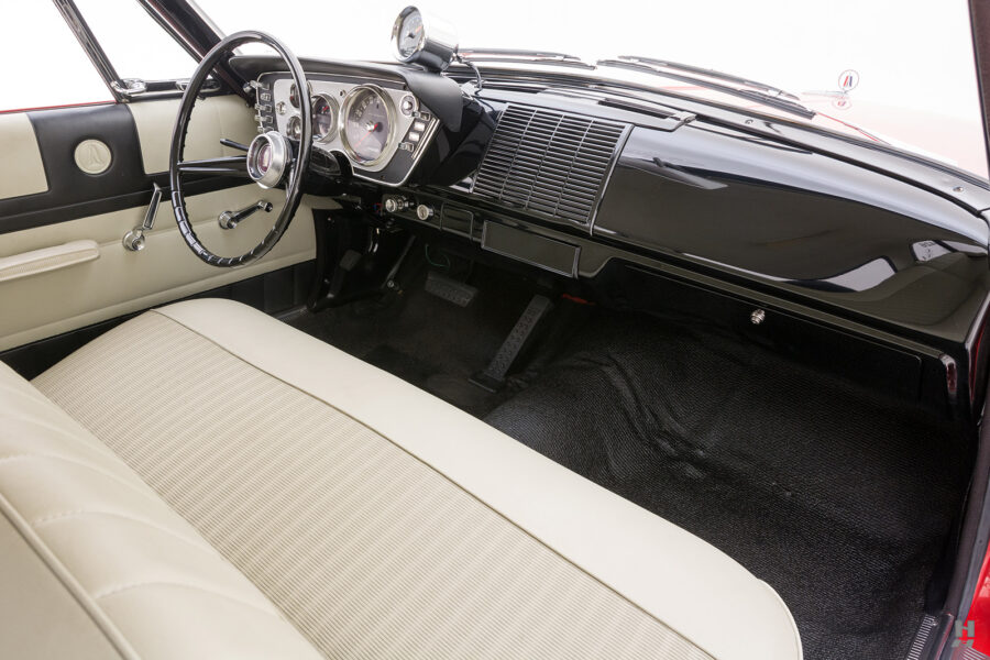 front interior of vintage 1963 plymouth savoy for sale at hyman classic cars