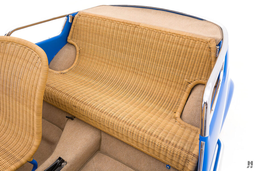 back seats of 1959 fiat 500 jolly for sale at hyman consignment dealers