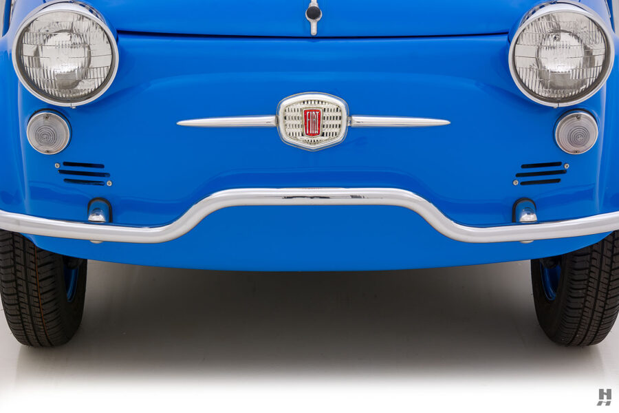 frontside of 1959 fiat 500 jolly for sale at hyman consignment dealers