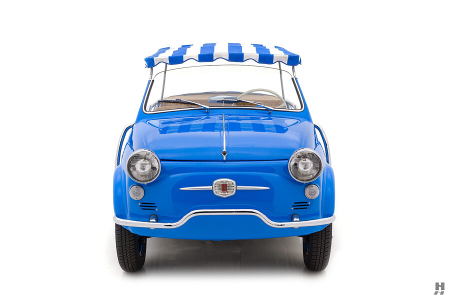 front of 1959 fiat 500 jolly for sale at hyman consignment dealers