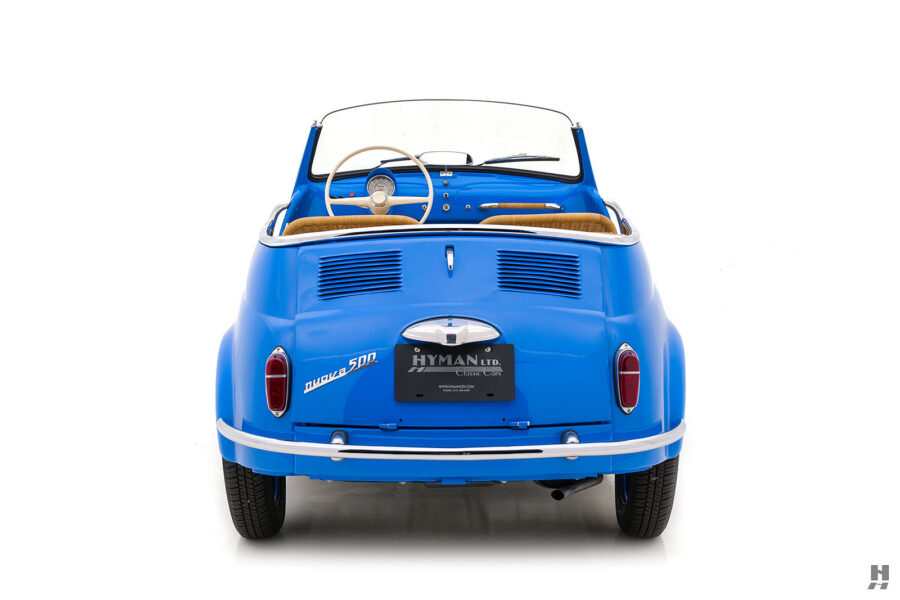 back of 1959 fiat 500 jolly for sale at hyman consignment dealers