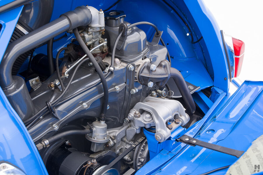 engine of 1959 fiat 500 jolly for sale at hyman consignment dealers