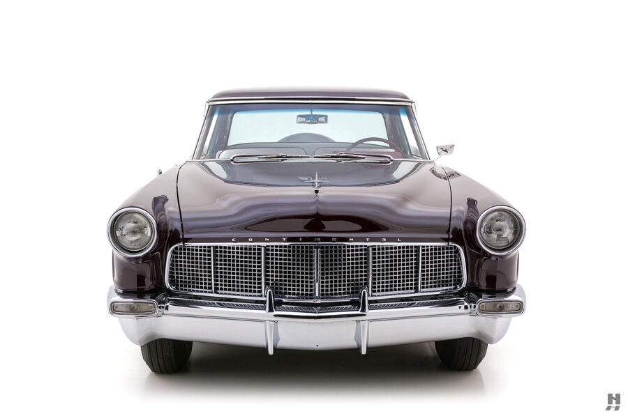 front of vintage 1956 lincoln continental car for sale at hyman dealers