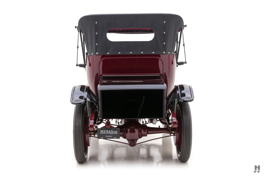 back of antique detroit electric roadster for sale at hyman classic cars