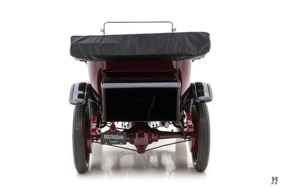 back of vintage detroit electric model roadster for sale at hyman cars