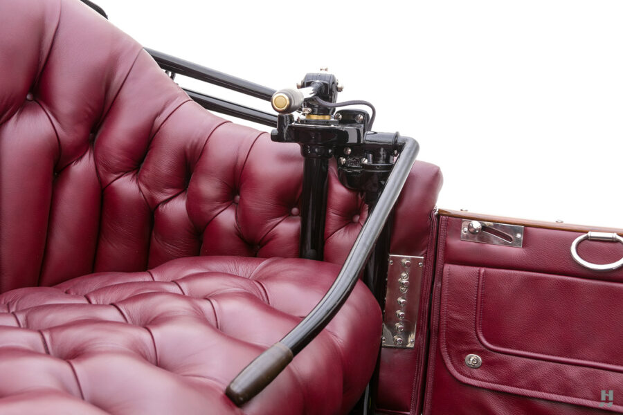 safety mechanism on antique detroit electric roadster for sale at hyman