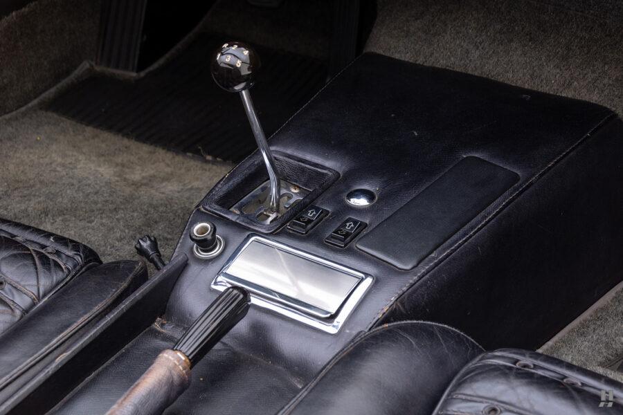 controls of historic ferrari for sale at hyman classic cars
