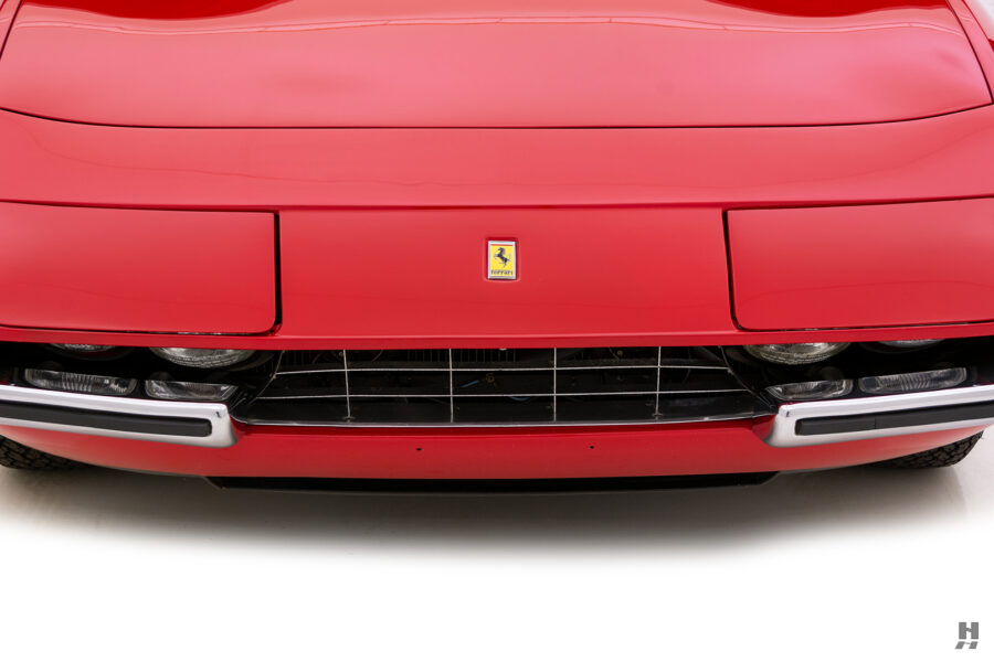 frontside of historic ferrari for sale at hyman classic cars