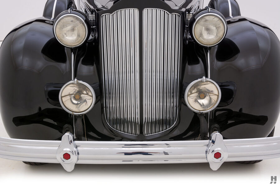 front of classic 1938 packard coupe for sale - find more cars at hyman dealers