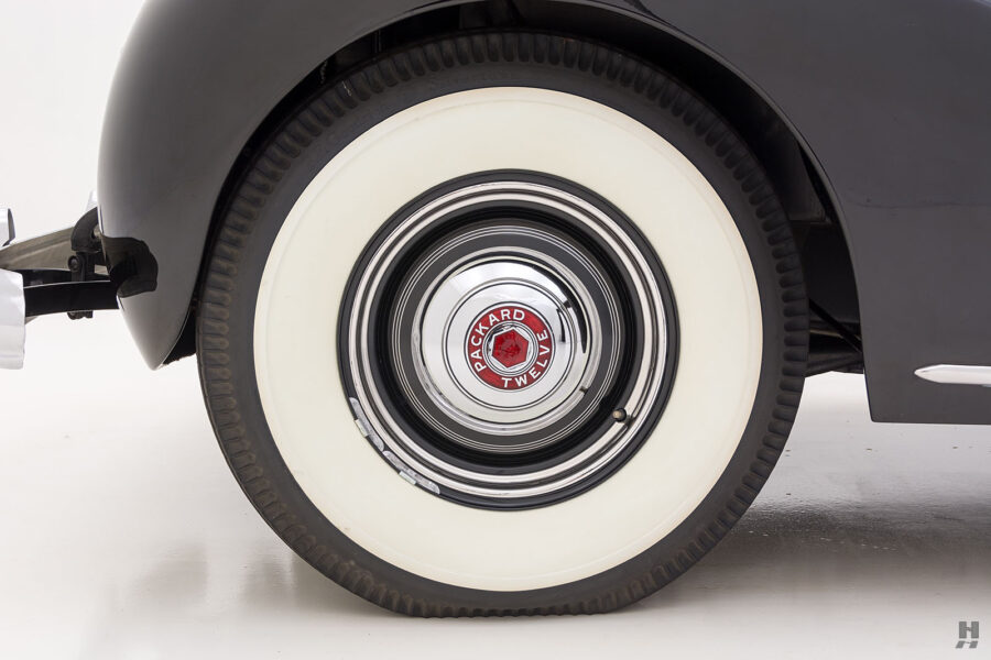 back tire on classic 1938 packard twelve coupe for sale at hyman dealers online