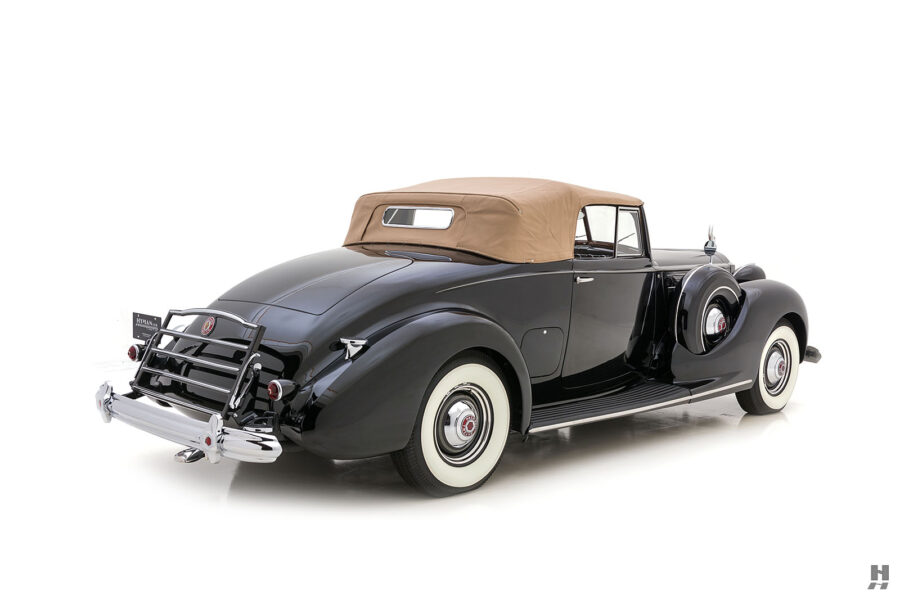 front of classic packard twelve coupe for sale - find more cars at hyman consignment dealers