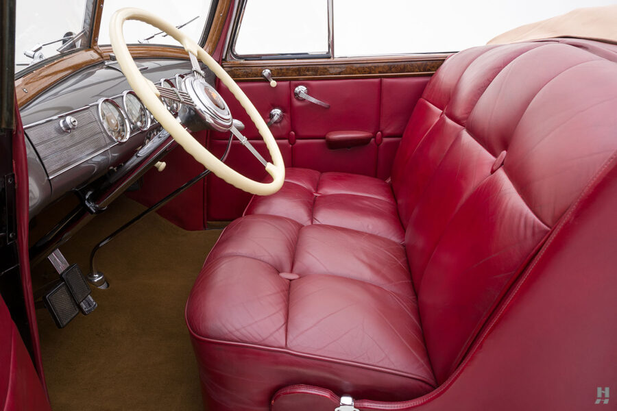 seats on classic 1938 packard roadster for sale - find more historic cars at hyman online