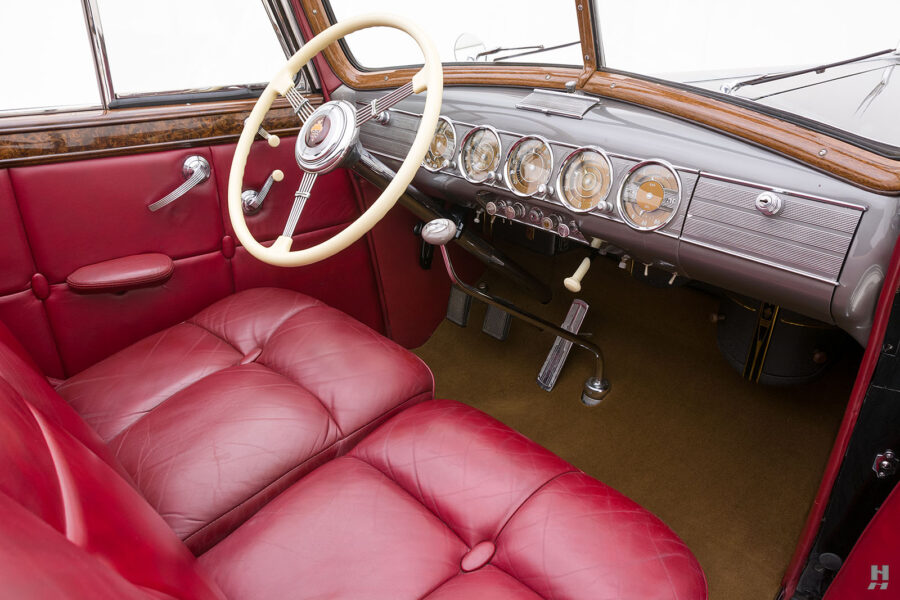 front seats and dashboard on classic 1938 packard roadster for sale - find more cars at hyman consignment dealers