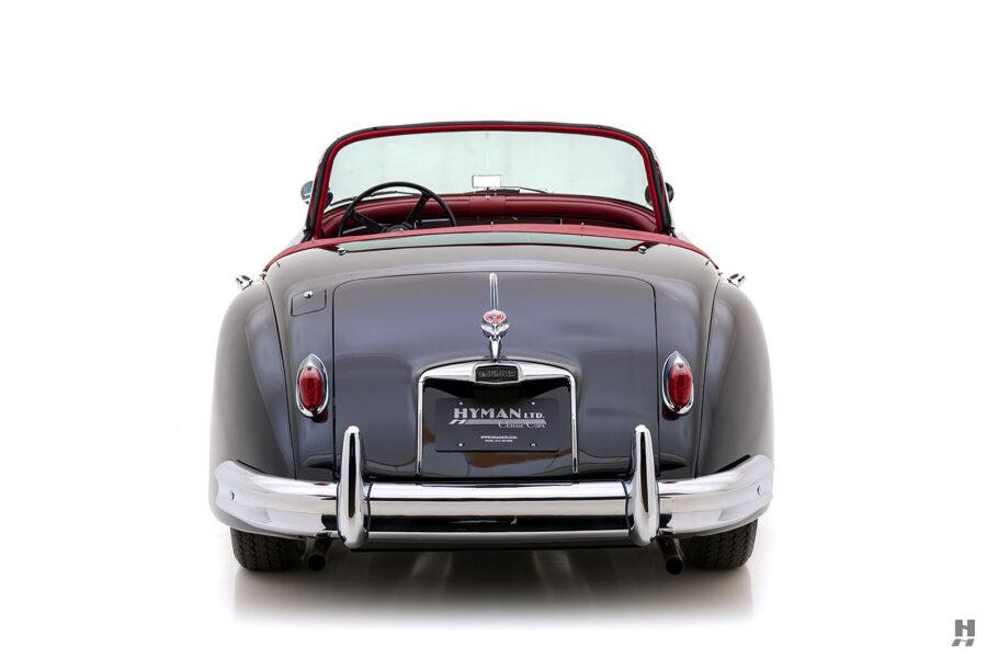 back of vintage 1959 jaguar roadster for sale online at hyman dealers