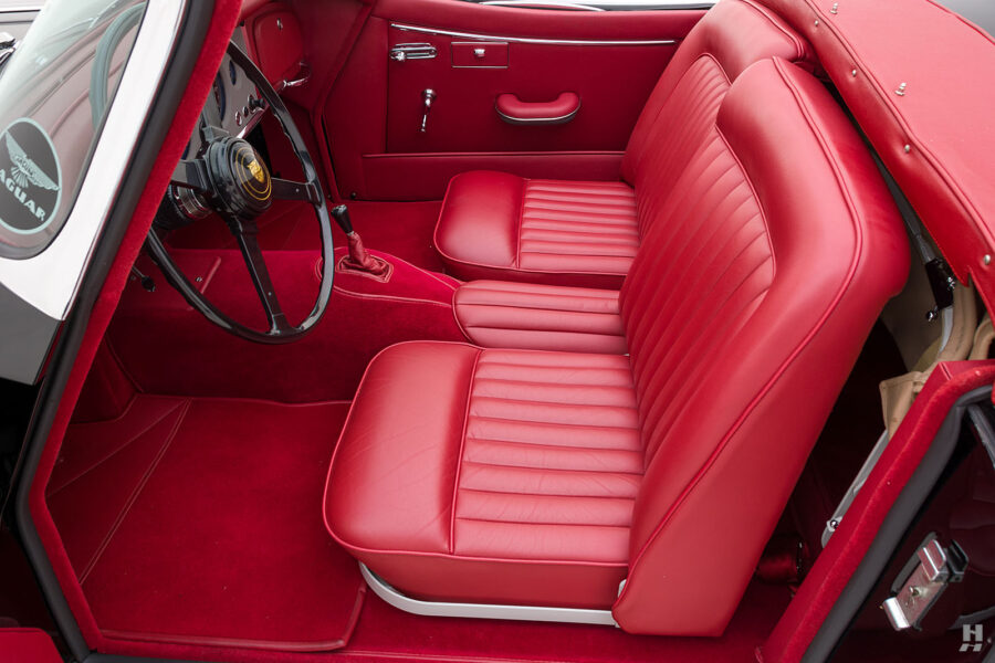 front seats on classic 1959 jaguar roadster for sale - find more cars at hyman dealers