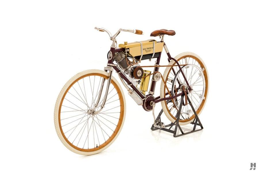 antique 1901 thomas auto bike for sale at hyman cars