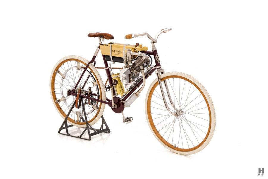 vintage 1901 thomas auto bike for sale at hyman cars