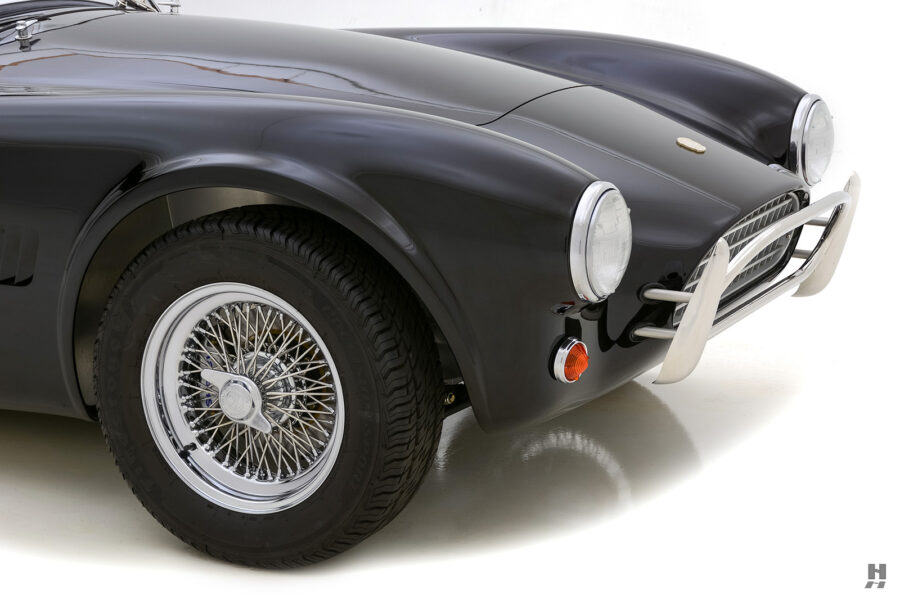 front of classic 1962 shelby cobra car for sale at Hyman dealers