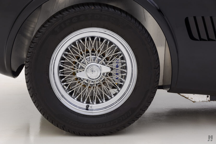 tire on classic 1962 shelby cobra convertible for sale at Hyman