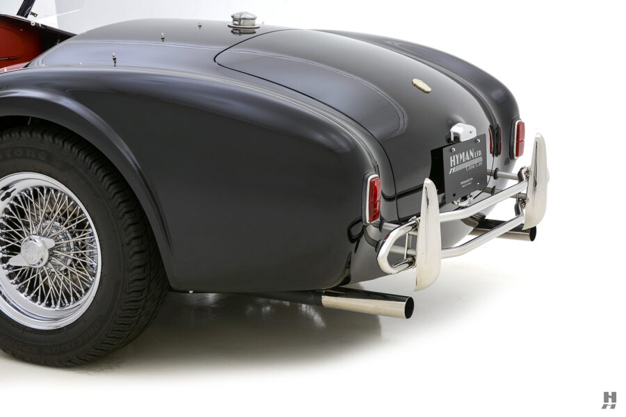 back of classic 1962 shelby cobra convertible for sale at Hyman